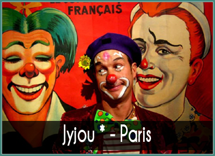 JyJou* Paris - clown, magicien, mime