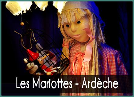Cie Les Mariottes - Marionnettes - Ardèche
