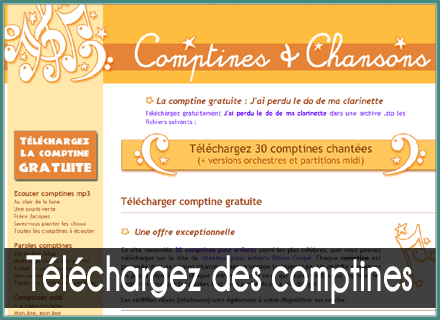 Comptines maternelle