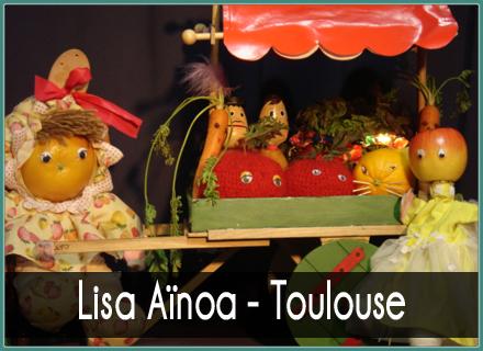 Lisa Aïnoa - Toulouse  Marionnettes pour enfants